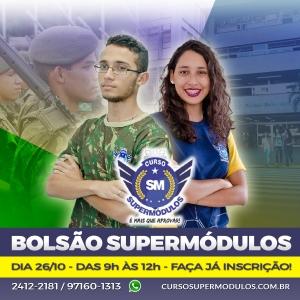 Vem aí o Bolsão SuperMódulos, dia 26/10!