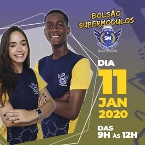 Inscreva-se para o 1º Bolsão SuperMódulos de 2020, dia 11/01!