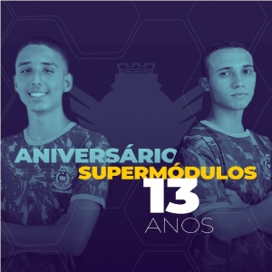 Está chegando o 13º Aniversário SuperMódulos!