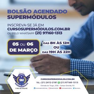 Inscreva-se já para o Bolsão Agendado SuperMódulos!