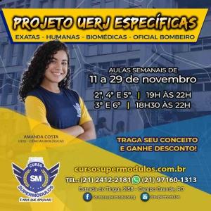 Participe do Projeto UERJ Específicas!