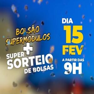 Vem aí o Bolsão + Super Sorteio de Bolsas dia 15/02!