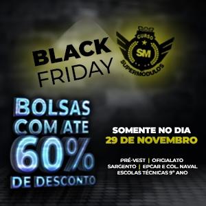 Não perca a Black Friday SuperMódulos!
