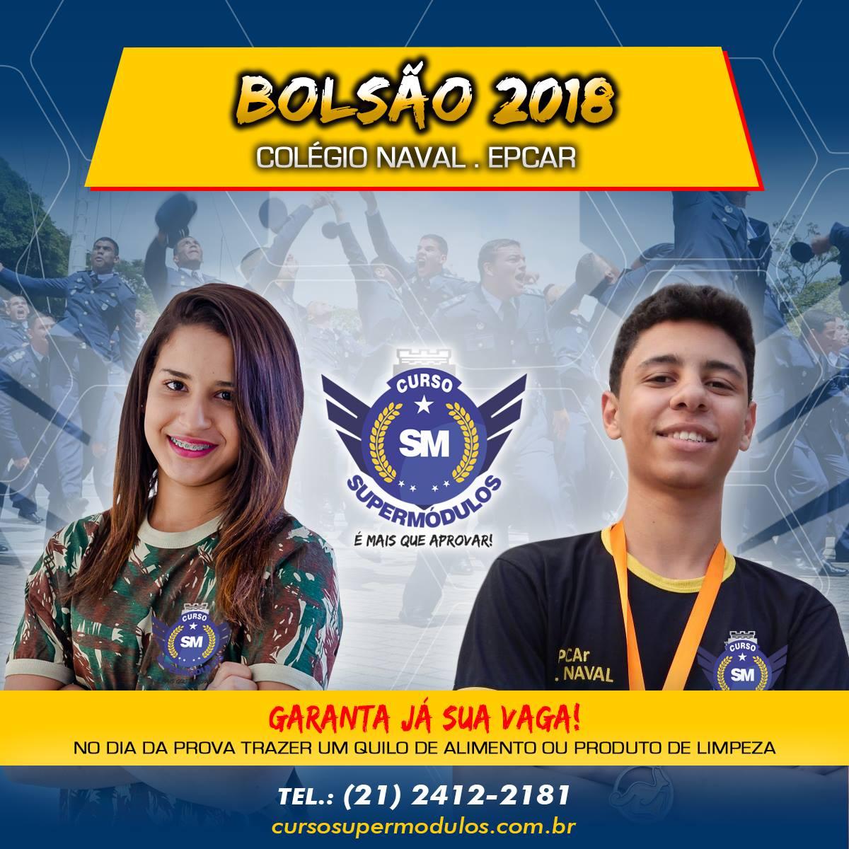 Bolsão 2018 - Colégio Naval e EPCAr