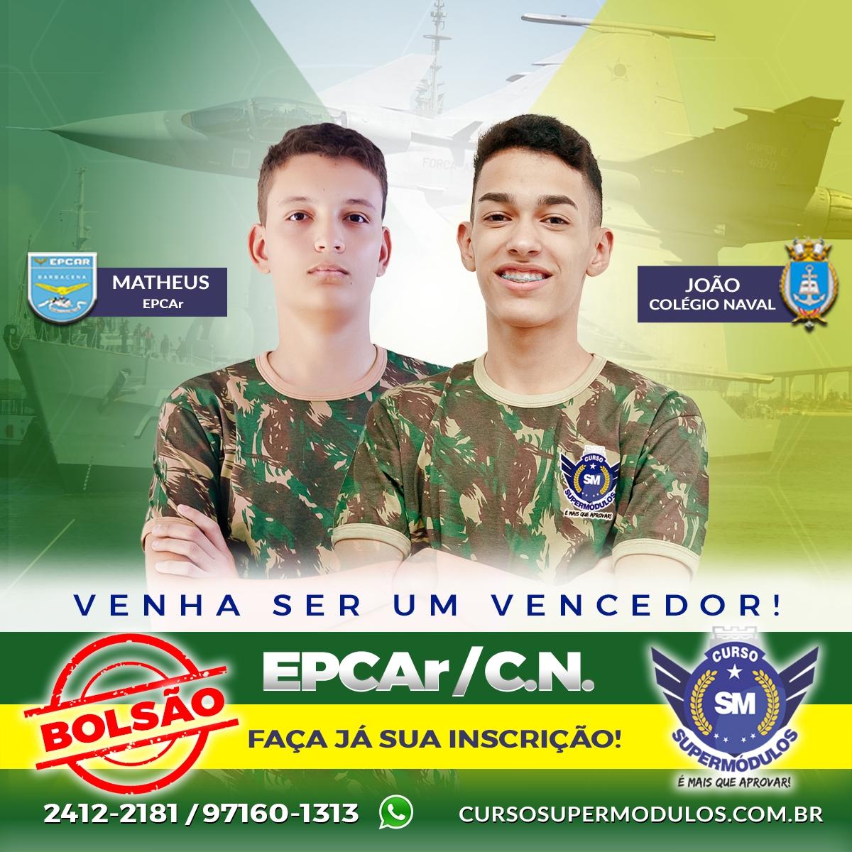 Bolsão Epcar / Colégio Naval