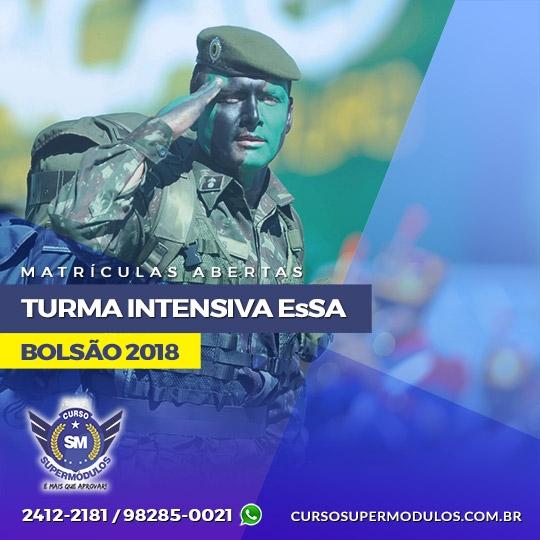 Bolsão EsSA 2018 - Curso Supermódulos - Turma Intensiva