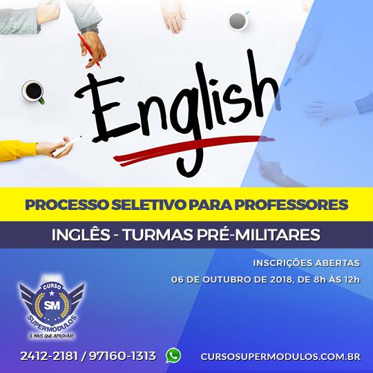 Professores Inglês