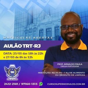 Aulão TRT/RJ - Língua Portuguesa