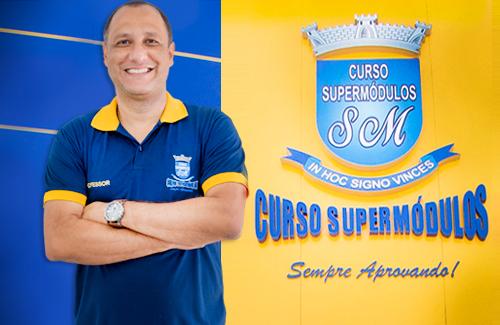 Prof. Alexandre Lima do Curso Supermódulos. Estude com quem aprova!